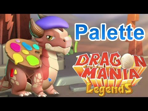 How to Breed the PALETTE Dragon! - Dragon Mania Legends (DOTW Breeding Guide July 10-17th)