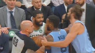 Kyrie Irving Trash Talks & Wanna Fight Shelvin Mack Then Destroys Entire Grizzlies!