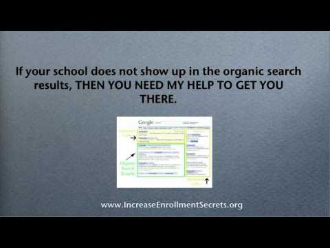 Increase Student Enrollment