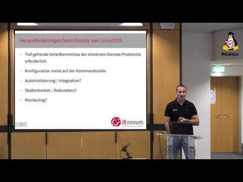 Flexibles Storage Management unter Linux mit openATTIC [Kieler Linux Tage 2015]