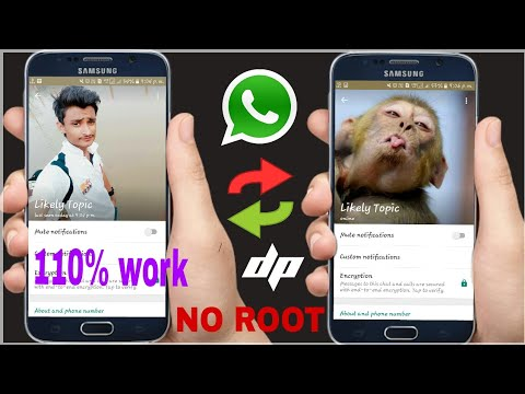 How To Change Friend's WhatsApp Profile Picture...Easy step, small trick & full masti |hindi| :-aman