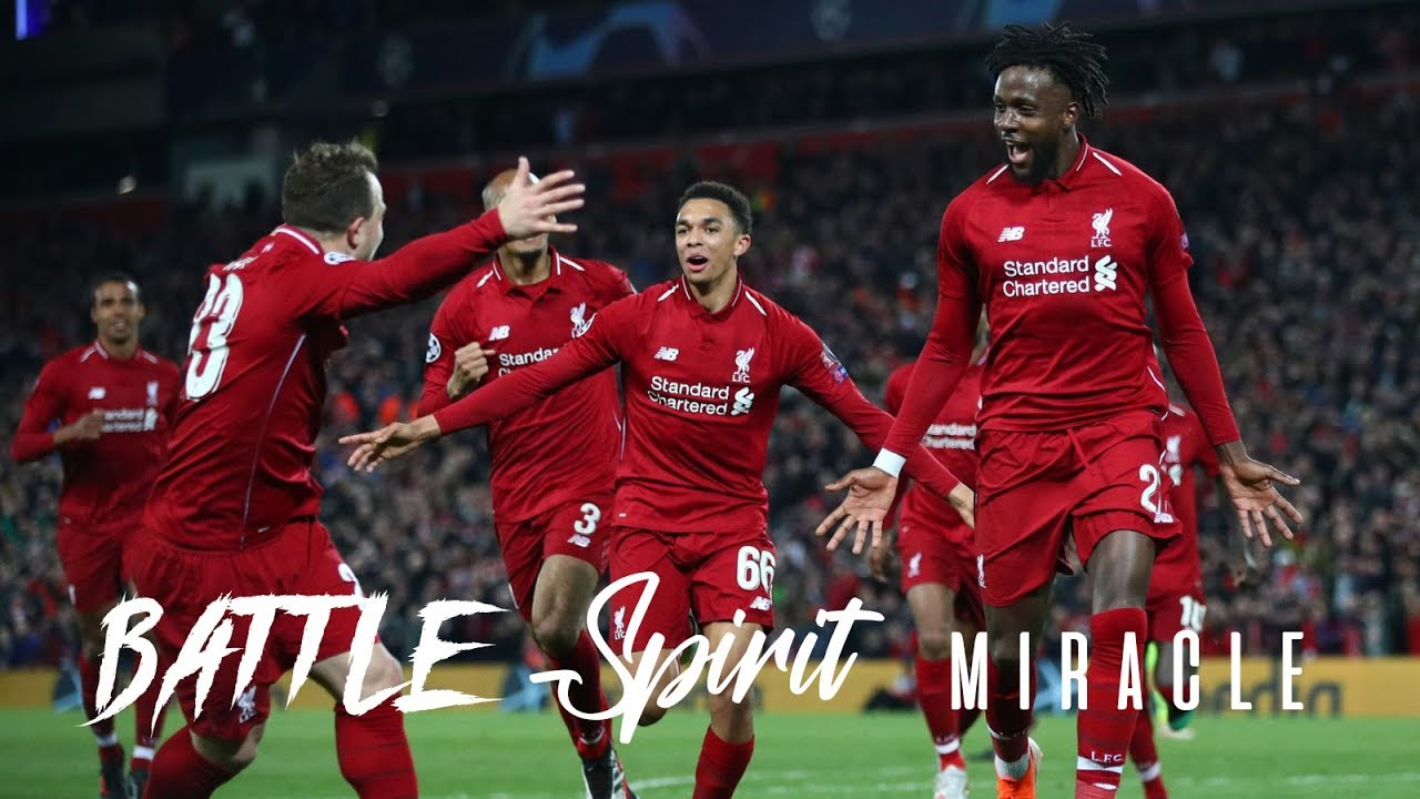 Liverpool vs Barcelona UCL 2019 l Cinematic l Miracle night , Epic battle