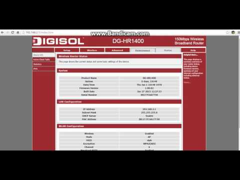 How to change wifi password of digisol router