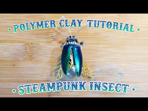 Insect Steampunk • DIY tutorial Tim Holtz lightbulbs