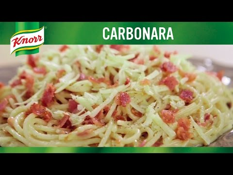#LutongNanay: Classic Carbonara