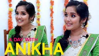A Day With Anikha Surendran   Onam Special Interview with Actress Anikha EP#1