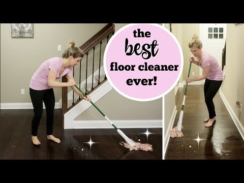 HOW I KEEP MY FLOORS CLEAN WITH KIDS & PETS | DEEP CLEANING MY FLOORS  | DIRTY FLOOR CLEANING HACK
