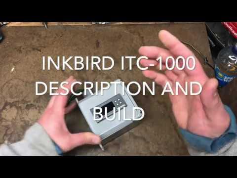 Inkbird ITC-1000f Description and Build