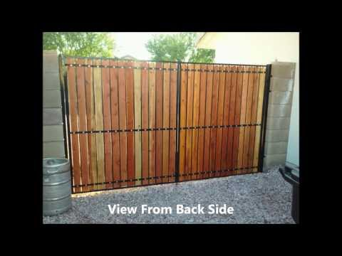 Side Yard Gate Refurbish - 01/08/2014