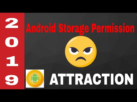 Android storage run time permission 2019