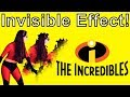 How To Do The Incredibles Invisible Effect DIY
