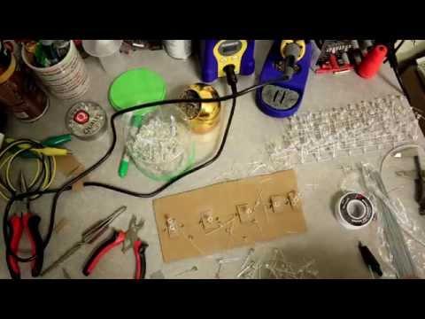 Building an 8x8x8 LED Cube