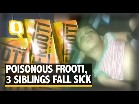 The Quint: Three Siblings Fall Sick Allegedly After Consuming Frooti