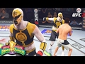 WHITE RANGER FINAL EDITION! My BEST FIGHT In Ultimate Team! EA Sports UFC 2 Ultimate Team Gameplay