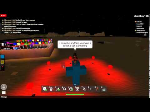 How To Make Something FLy Or Move On Roblox