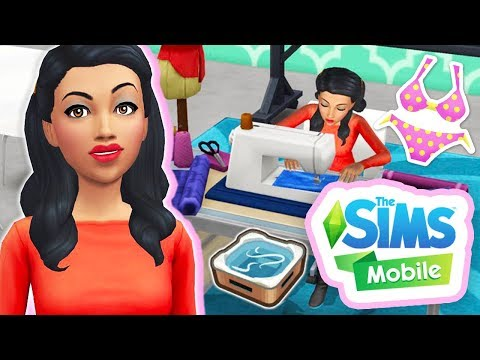NEW HOT TUB DREAMS EVENT!👙💦 // THE SIMS MOBILE #5 [GAMEPLAY]