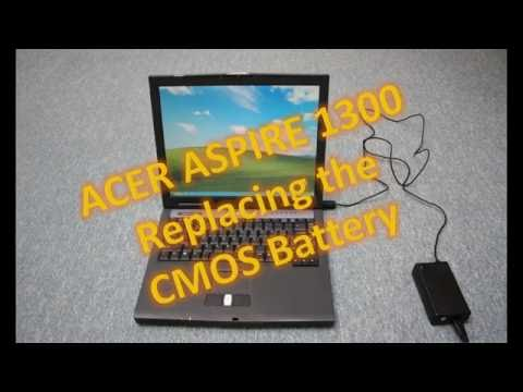 Acer Aspire 1300 CMOS Battery Replacement / Repair's with Engineer-six