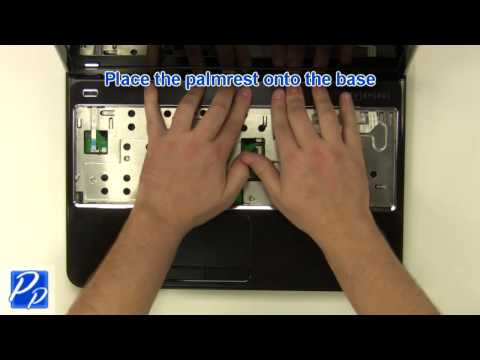 Dell Inspiron 15R N5110 Palmrest Touchpad Replacement Video Tutorial