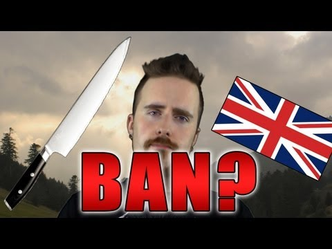 UK to ban KITCHEN knives? - Sacrificing freedom for security?