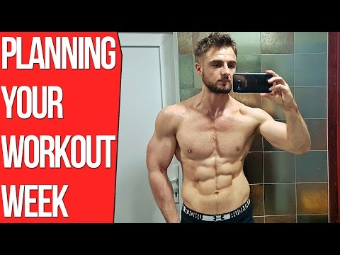 How To Plan Your Workout Week (Flexible Training Research)