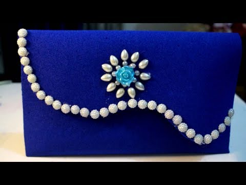 How to make purse at home - Purse making ideas - Make your own purse