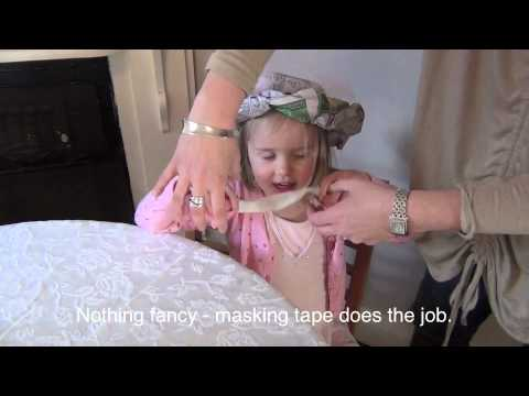 How to make newspaper tea party hats