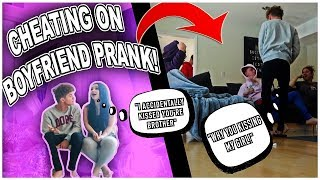 CHEATING ON MY BOYFRIEND PRANK! *He Almost Broke Up With Me