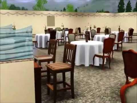 Sims 3 New Wedding Church (Closer Look)