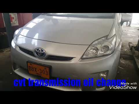 Toyota Prius change CVT  oil