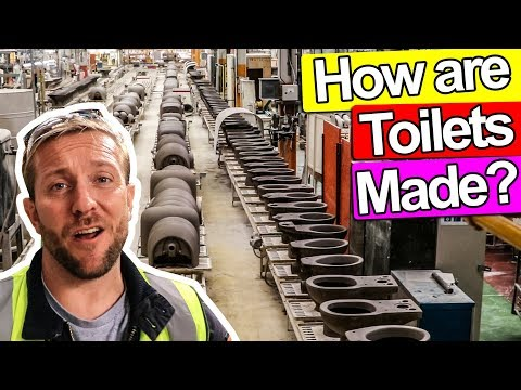 HOW ARE TOILETS MADE?