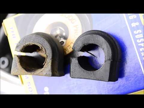 MINI Cooper Rear Sway Bar Bushings Replacement