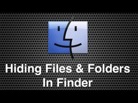 How To Hide Files and Folders Within Mac OS X