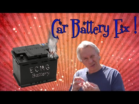 Replace Battery Terminals - on your own car