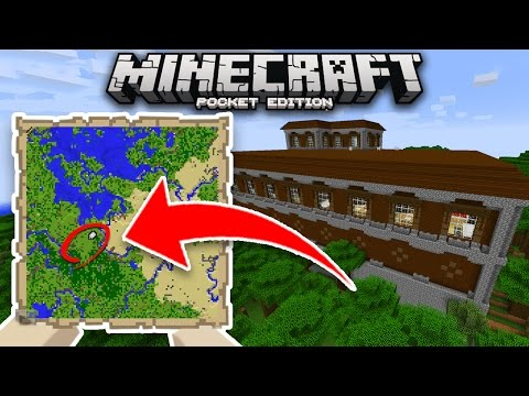 How To Find WOODLAND MANSIONS in Minecraft PE UPDATE!! (Pocket Edition)