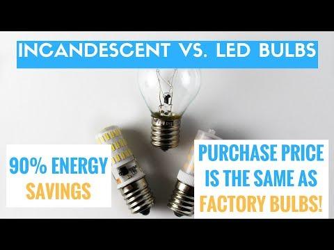 Kakanuo LED bulbs vs. Factory Appliance Bulbs | Price Comparison, SAVE BIG BUCKS!