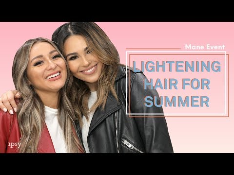 How to Lighten Your Hair for Summer Feat. Roxette Arisa & Yes Hipolito   ipsy Mane Event