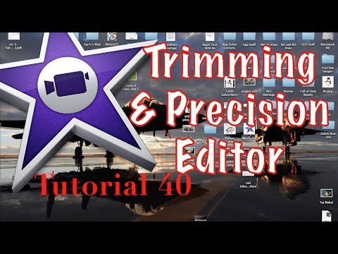 Precision and Clip Trimming Options in iMovie 10.0.3 | Tutorial 40