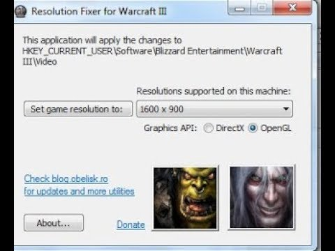 Cara Fix Resolusi Warcraft 3 agar full screen