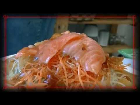 Prosperity Yue Sang (Ho Wan Yue Sang) or Raw Fish Salad