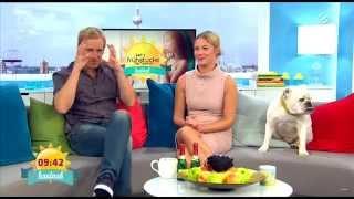 Alina Merkau & Larissa Kindt | Sat.1 FFS | 02.10.2015