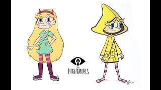 Star vs. the Forces of Evil as Little Nightmares