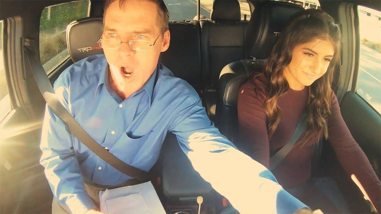 Hailie Deegan Shocks DMV Instructor