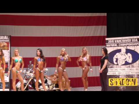 2016 Vancouver USA Championships finals, open bikini under 5' 5.5