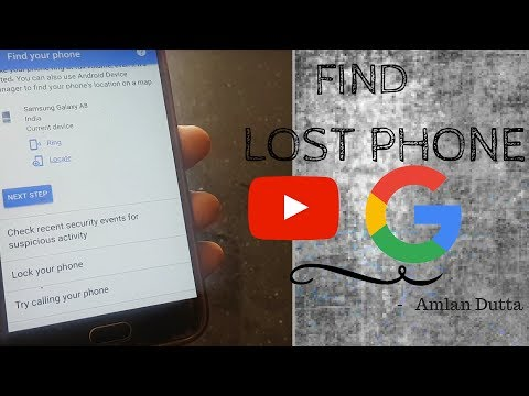 How to find your lost phone using Google