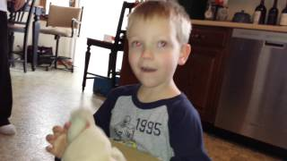 Boy Reunited With His Lost Stuffed Animal