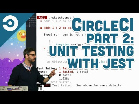 CircleCI Part 2: Unit Testing with Jest