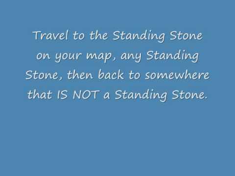 Elder Scrolls V:Skyrim:Standing Stone Achievement glitch