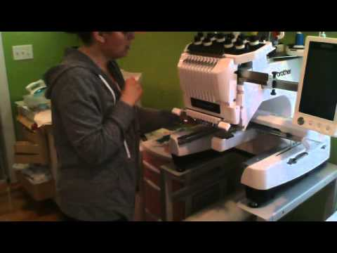 How To Attach A Fast Frame Arm Onto A Multineedle Embroidery Machine