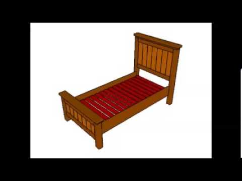 How to build a twin bed