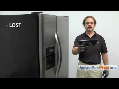 Refrigerator Dispenser Drip Tray (part #241649003) - How To Replace